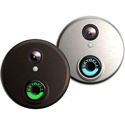 SkyBell HD Wi-Fi 1080p Motion Sensor Security Video Doorbell - Choose Color