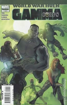 World War Hulk Gamma Corps #1 2007 NM Stock Image