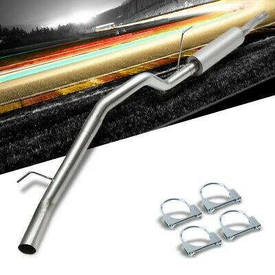 """409 Stainless 3/"""" Outlet Muffler Catback System HP Up for 2004-2006 Titan A60"""
