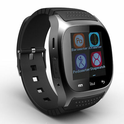 M26 Mate Wrist Waterproof Bluetooth Smart Watch For Android LG Samsung iPhone