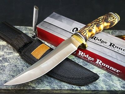Ridge Runner Large Skinner Knife W/ Sheath