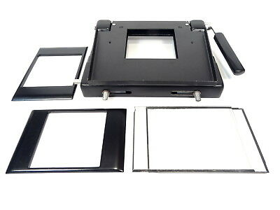 Krokus 6x6 Universal Negative Carrier - With Glass Inserts and 6x6cm Masks