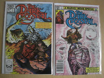 The DARK CRYSTAL : COMPLETE 2 ISSUE SERIES of the JIM HENSON MOVIE. MARVEL. 1983