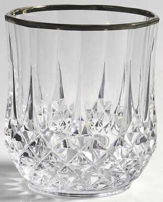 Cris D'arques/durand LONGCHAMP GOLD Double Old Fashioned Glass 8437170