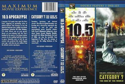 Dvd: 2-Disc Double Feature: 10.5 Apocalypse & Category 7