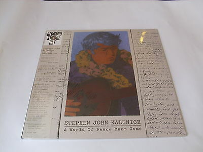 Stephen John Kalinich - A World Of Peace Must Come - col LP Vinyl /// Neu & OVP