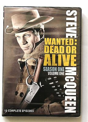Wanted: Dead or Alive - Season One (DVD, 2009, 4-Disc Set) Brand New