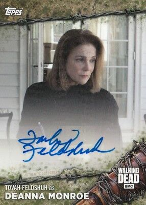 The Walking Dead On Demand 2017 - Tovah Feldshuh Mold Parallel Autograph 19/25