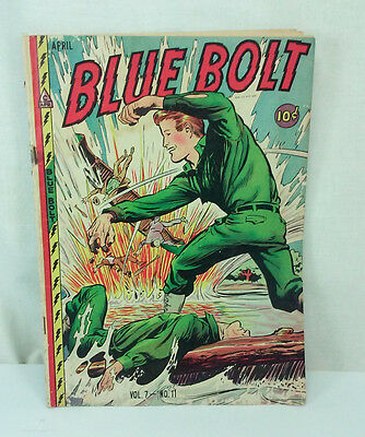 April 1947 Blue Bolt Vol 7 No 11 Golden Age Comic