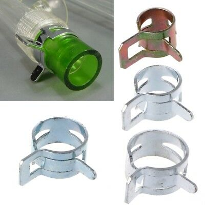 Lot Computer Water Cooling Pipe Clamp Elasticity Clip For OD 8/10/12/13mm Hose
