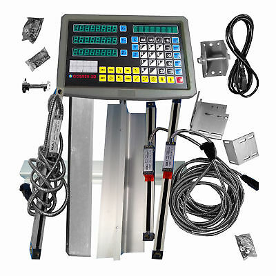 Precision 3 Axis digital readout for milling lathe machine with linear scale