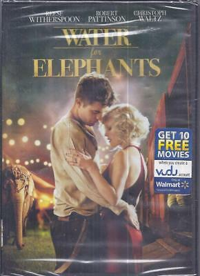 Dvd:  Water For Elephants.....reese Witherspoon-Robert Pattinson
