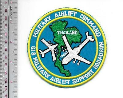 US Air Force USAF Thailand 618th Military Airlift Support Sq Korat Airbase Vietn