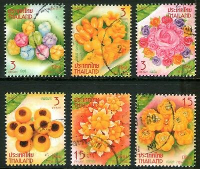 Thailand 2017 New Year Deserts set of 6 Fine Used