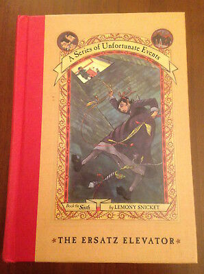 SIGNED 1st/1st Lemony Snicket THE ERSATZ ELEVATOR #6 Series Unfortunate Events