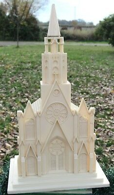 Vintage Paramount Raylite Illuminated Light Up Musical Church Cathedral 1950s