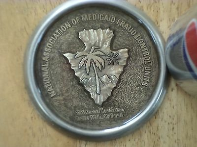 National Association of Medicaid Fraud Control Units, Vintage Glass Paperweight