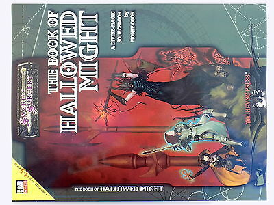 Swords and Sorcery d20 THE BOOK of HALLOWED MIGHT Sourcebook Monte Cook 13448