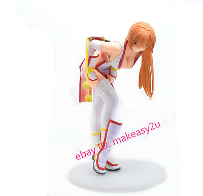 "Dead or Alive Kasumi C2.Ver PVC Statue 8"" Toy Figure New Without Box White"