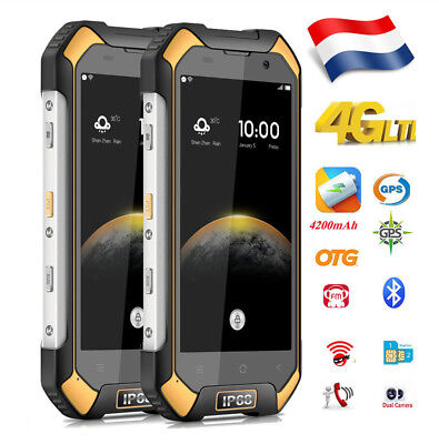 Blackview BV6000S 4G Téléphone Android 6.0 2+16GB 8MP 4200mAh Outdoor Smartphone