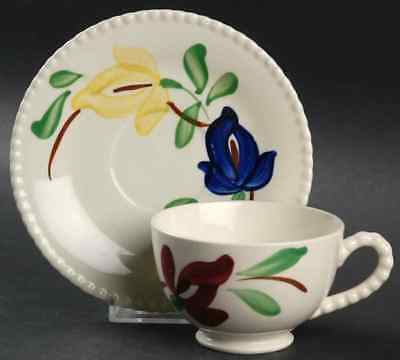 Blue Ridge Pottery CARNIVAL Cup & Saucer 40222