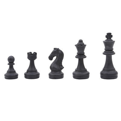 CHESS Pieces - Set Of 32 Plastic Parts - King size 2.5 Inch Hand Crafted Toy LG