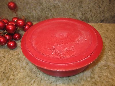 "Vintage Red Thermos Brand Picnic Jug Replacement 4"" diameter Stopper Plug"