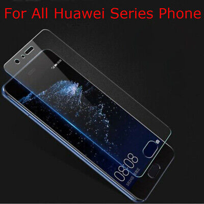 Real Tempered Glass Film Screen Protector For ALL HUAWEI Phone Series P9 Lite FA