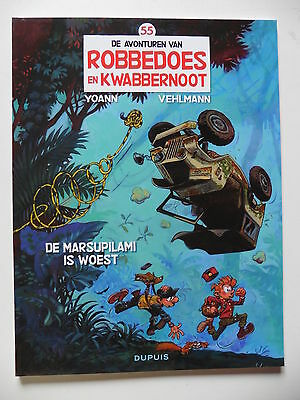 Robbedoes en Kwabbernoot nr 55 April 2016