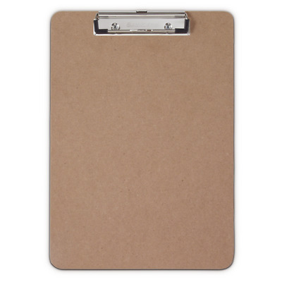 Saunders 05512 Recycled Hardboard Clipboard (Letter/A4 size)