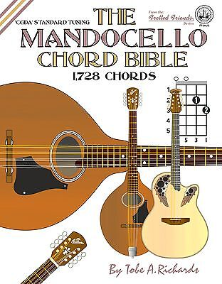 Mandocello Chord Bible 1,728 Chords!!!