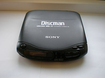 Rare Sony Discman D-130 Portable CD Player Fully Working