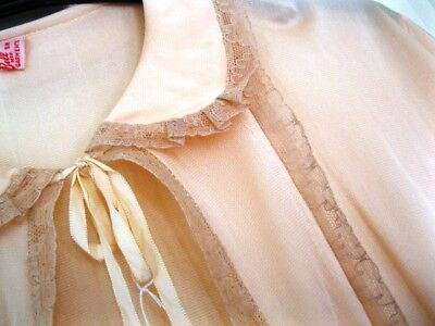 Vintage Nightwear - Bed Jacket -  Soft Pink Size 10