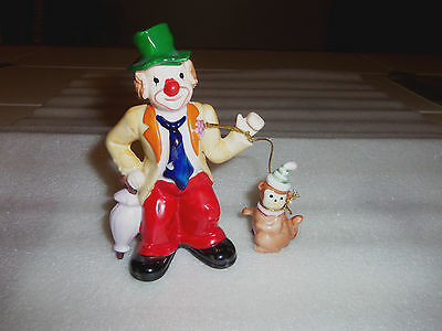 Vintage CLOWN Figure--ENESCO--1987--Korea