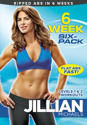 Jillian Michaels 6 Week Six Pack Abs Exercise Dvd New Sealed Workout Fitness