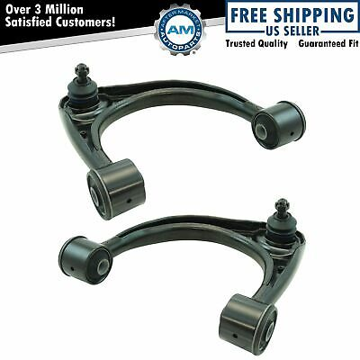 Front Upper Control Arm Ball Joint Assembly LH RH Driver Passenger Pair Set 2pc