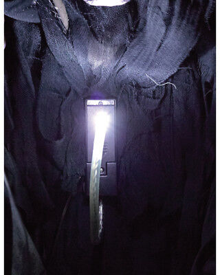 White Light Fright Night Lite Light Up Your Face Costume Accessory