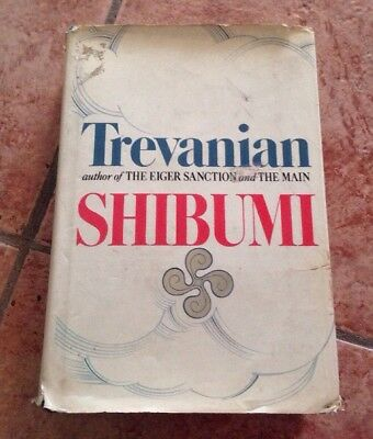 Shibumi by Trevanian (1984, Hardcover) Author of The Eiger Sanction & The Main