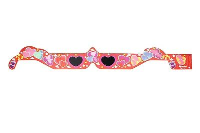 Pack of 5 Hearts Holographic Glasses