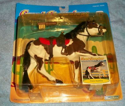 "NEW 1992 Marchon Grand Champions Pinto Stallion 6.5"" horse 50025"