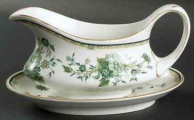Crown Staffordshire KOWLOON Gravy Boat & Underplate 95268