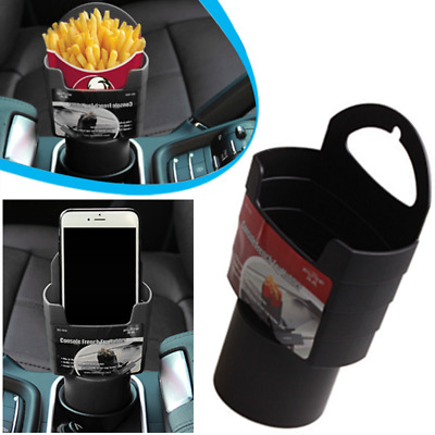 New UNIVERSAL Holder In Car Drinks Cup Bottle Can Holder Foldable & Clip On