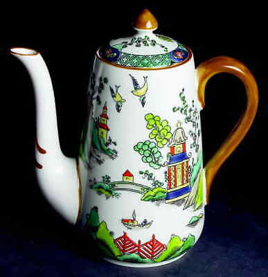 Crown Staffordshire YE OLDE WILLOW Coffee Pot 4267580