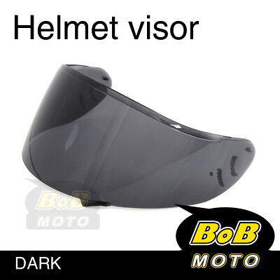 Smoke Tinted Shield Helmet Visor Fit Shoei X-SPIRIT 2 Qwest X-Twelve