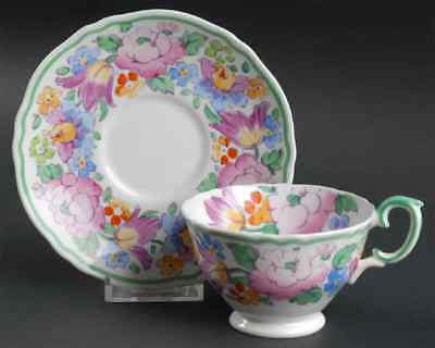 Crown Staffordshire 15227 Cup & Saucer 1638050