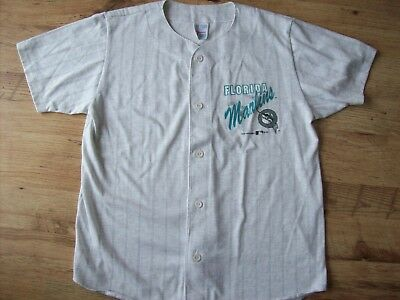 Vintage Florida Marlins Baseball Jersey (Small)