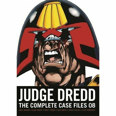 Judge Dredd: The Complete Case Files 08 - Paperback NEW John Wager (Aut 2014-08-