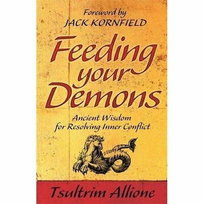Feeding Your Demons: Ancient Wisdom for Resolving Inner - Paperback NEW Allione,