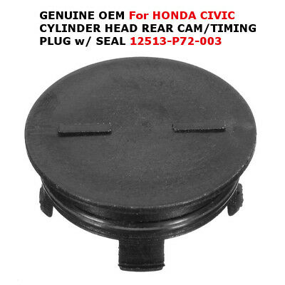12513-P72-003 Fit For HONDA CIVIC CYLINDER HEAD REAR CAM/TIMING PLUG w/ SEAL