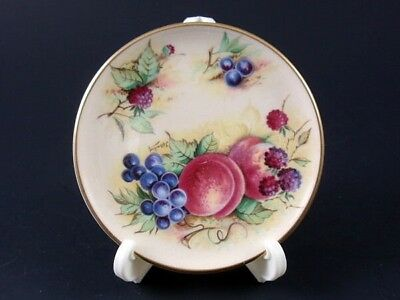 Crown Staffordshire ORCHARD GLORY Miniature Plate #2 Franklin Mint